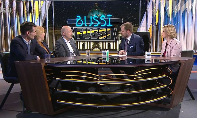 Sticheleien und Witzeleien bei der neuen Show von Rudi Fußi.