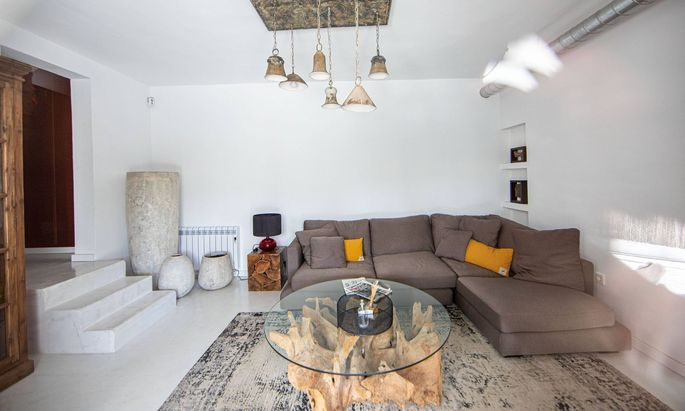 Eines der Zimmer, in denen das Ibiza-Video aufgenommen wurde.