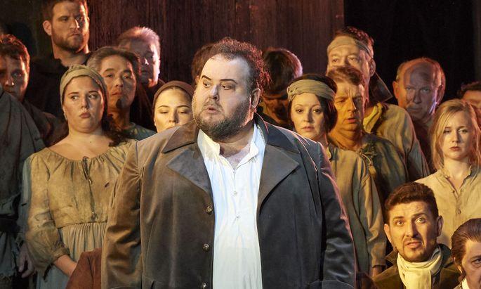 Sartori als Don Carlo: Seine Stimme drängt zunehmend ins Heldische.