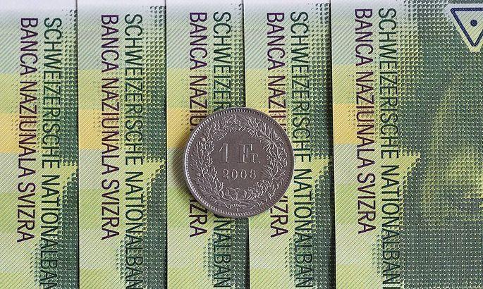 Themenbild Waehrung Schweizer Franken Schweizer Franken Geldscheine CHF Fraenkli Wechselkurs