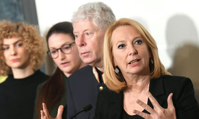 Für einen Schulterschluss gegen Gewalt plädierte Doris Bures, die zweite Nationalratspräsidentin (SPÖ). ÖVP und FPÖ wittern einen Alleingang der Opposition.