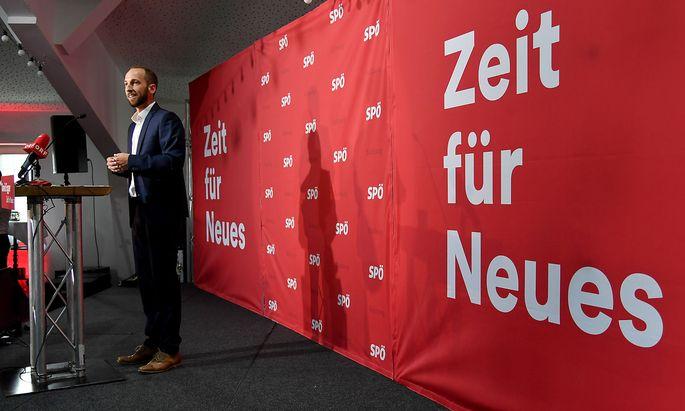 SALZBURG: 'PRAeSENTATION DES NEUEN SPOe-LANDESVORSITZENDEN' / EGGER