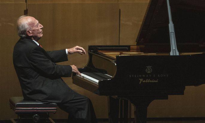Ihm geht es um die Werke: Maurizio Pollini im Salzburger Haus für Mozart.