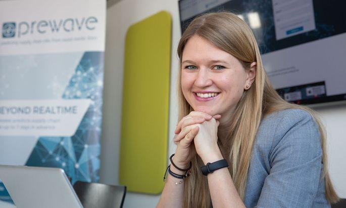 Den Prototyp der Prewave-Technologie hat Lisa Smith im Rahmen ihrer Dissertation an der TU Wien entwickelt.