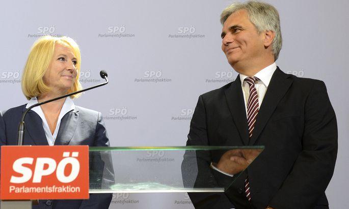SPÖ: Rochaden abgesegnet, Gegenstimmen für Schopf