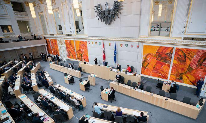 Plenum des Nationalrats