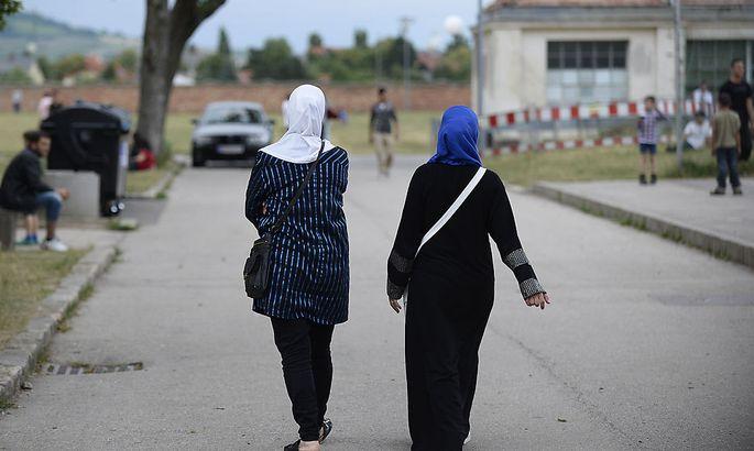 Asylwerber in Traiskirchen