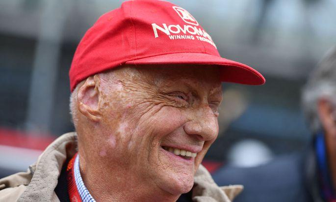 Niki Lauda nutzt seine dritte Chance