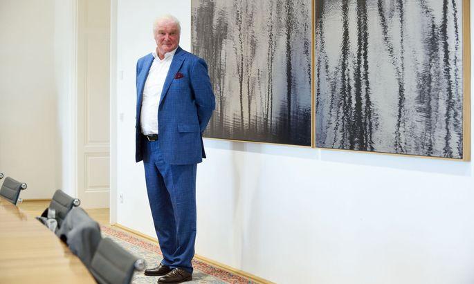 """""""Wir müssen jetzt vorrangig für unsere bestehenden Beteiligungen da sein"""", sagt B&C-Aufsichtsratschef Wolfgang Hofer."""