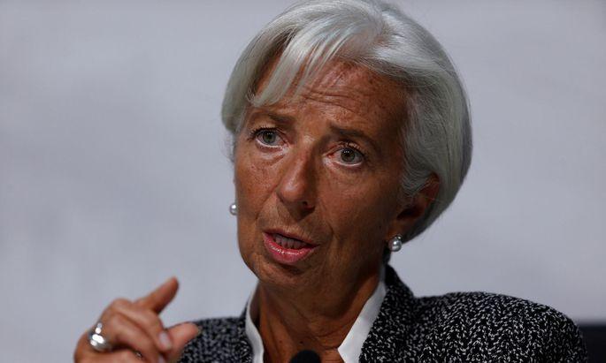 IWF-Chefin Christine Lagarde warnt vor einem Brexit ohne Deal