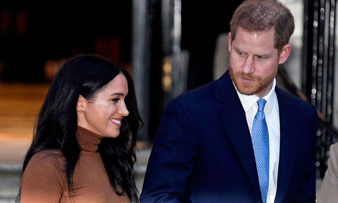 """Der Rückzug aus dem Königshaus sei für Harry und Meghan""""unglaublich hart"""" gewesen - """"aber wir hatten einander"""". Prinzessin Diana war allein gewesen. (Archivbild)"""