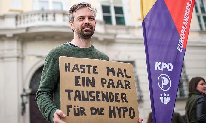 EU-WAHL: PROTESTAKTION DER PARTEI 'EUROPA ANDERS': EHRENHAUSER