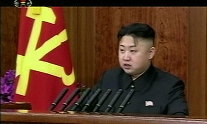 Nordkorea Jongun fuer radikalen