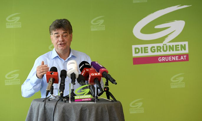 Die Ärmel noch nicht aufgekrempelt: Werner Kogler spricht ab Freitag mit der ÖVP.