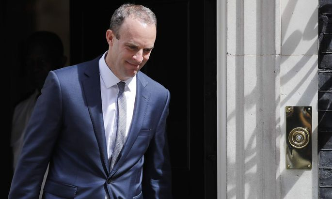Dominic Raab wird neuer Brexit-Minister.
