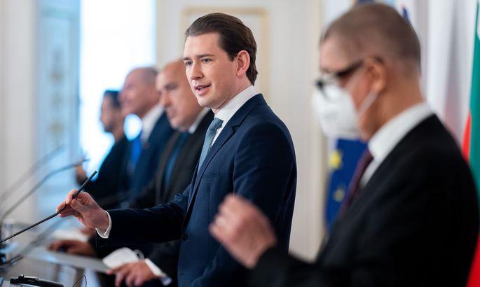 PK NACH ARBEITSGESPRAeCH 'IMPFSTOFFVERTEILUNG IN DER EU': KURZ / BORISSOW / JANSA / BABIS