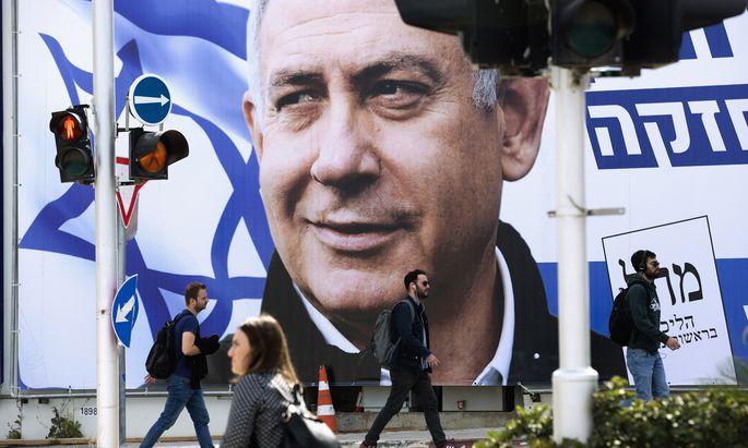 Noch einmal Bibi wählen – oder bye-bye, Bibi? Das ist die Frage für die Israelis bei der Wahl, die zu einem Referendum über den Premier wird.