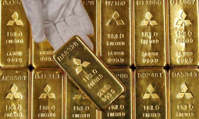 Gold ist so teuer wie seit sieben Jahre nicht mehr