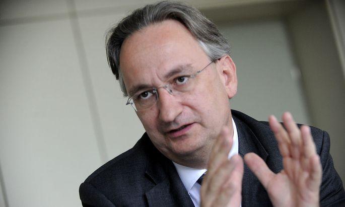 Baumax-Vorstandschef Michael Hürter