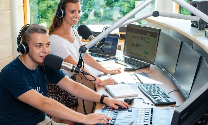 Freifach Campus-Radio: Beliebt an der Fachhochschule St. Pölten.