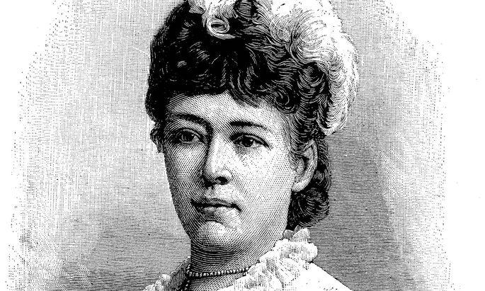 """Frauen, die sich pazifistisch engagieren, werden heute noch als """"Friedens-Bertha"""" abgewertet (im Bild: Bertha von Suttner)."""