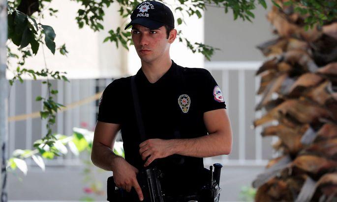 Türkischer Polizist (Symbolbild)
