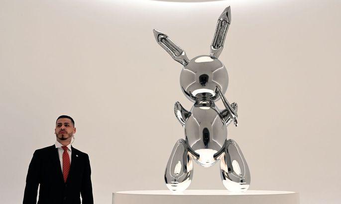"""Rabbit"" von Jeff Koons"