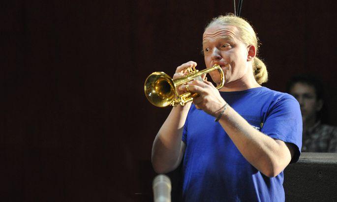 Trompeter Lorenz Raab (Archivbild).