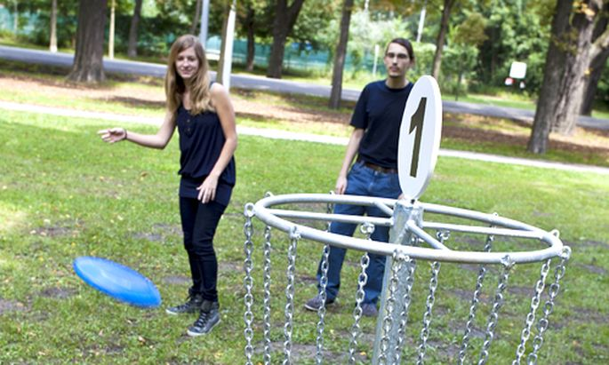 Neuer Trend Discgolf Frisbees