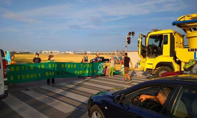 Die Vorarbeiten in der Donaustadt sorgten schon mehrfach für Blockaden.