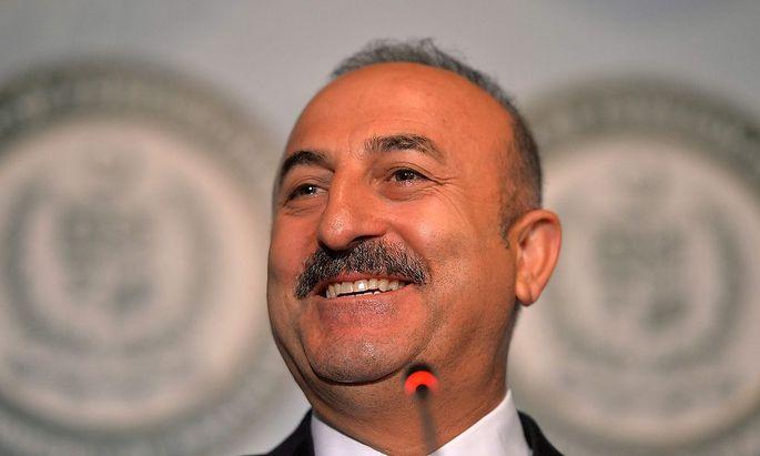 Der türkische Außenminister Cavusoglu
