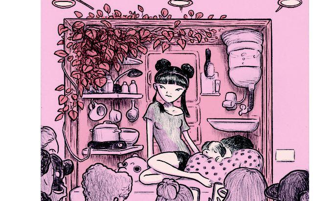 """Unfollow"". Lukas Jüligers Graphic Novel über alternative Lebensformen ist wie das Vorgängerbuch ""Vakuum"" bei Reprodukt erschienen."