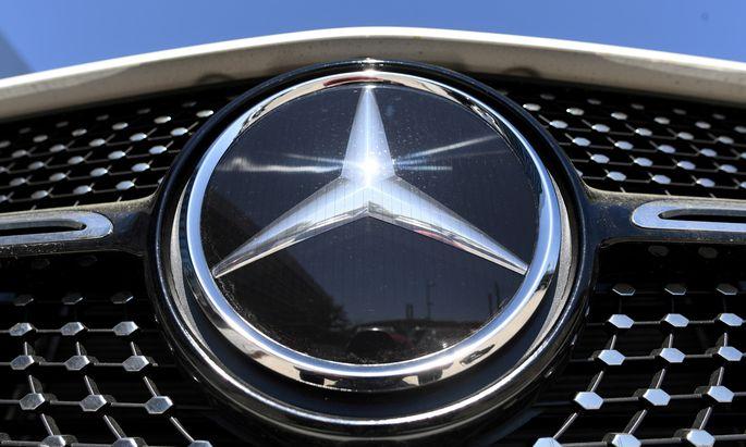 In China war die Nachfrage nach Daimler-Fahrzeugen hoch.