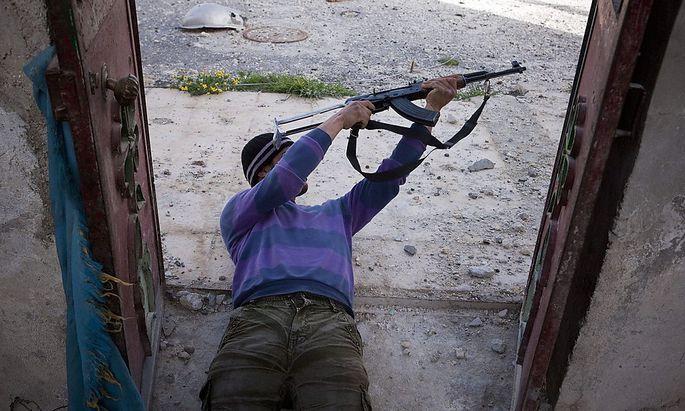 Rebellen-Kämpfer in Syrien
