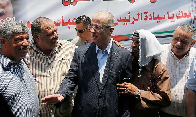 Archivbild von Palästinenser-Premier Rami Hamdallah.