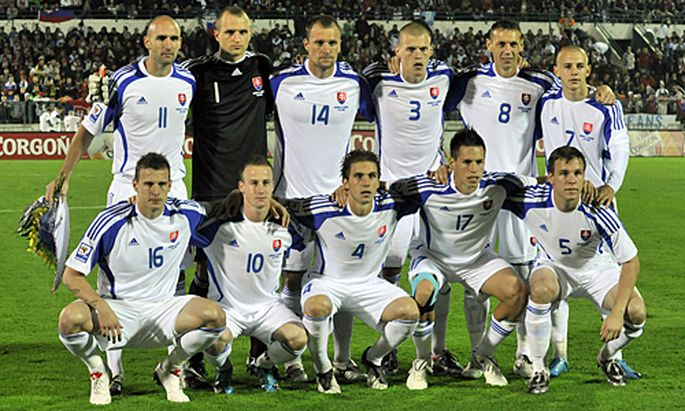 Slowakei Gruppe Em