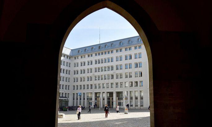 Symbolbild: Blick auf das Innenministerium
