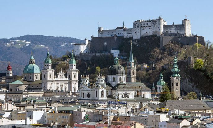 Austria: Salzburg's Historic Centre