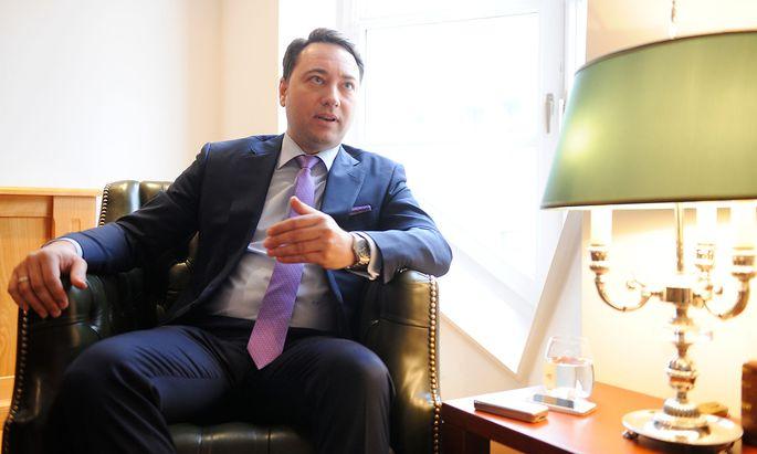 Oberösterreichs FPÖ-Chef Manfred Haimbuchner
