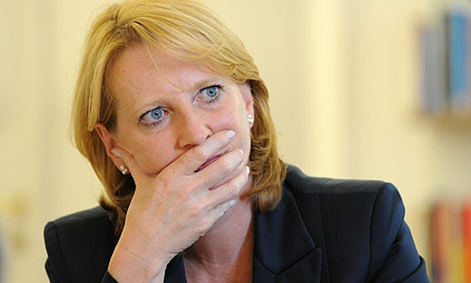 Infrastrukturministerin Doris Bures.