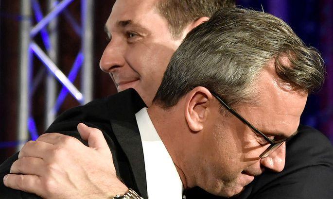 Heinz-Christian Strache und Norbert Hofer