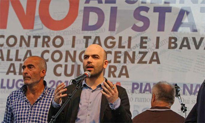 bdquoGomorrhaldquoAutor zieht gegen Berlusconis