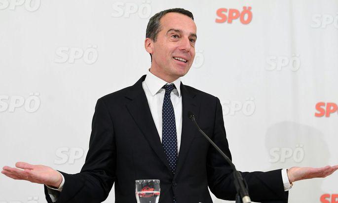 Die SPÖ gönnt ihrem Parteichef Christian Kern eine Gehaltserhöhung