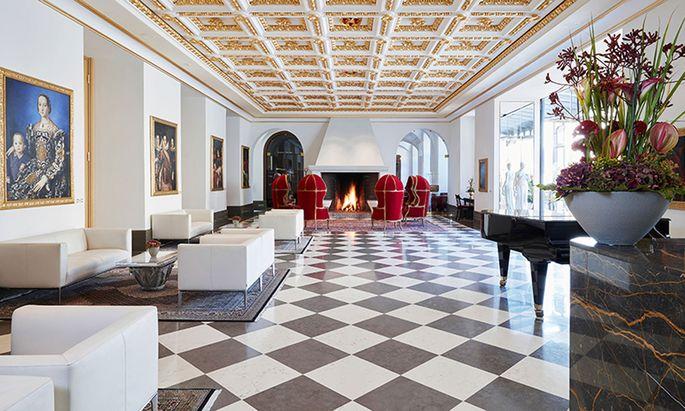 Viele Nutzungen, ganz entlegene: das Livinghotel De Medici in Düsseldorf.