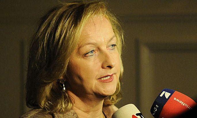 Innenministerin Maria Fekter
