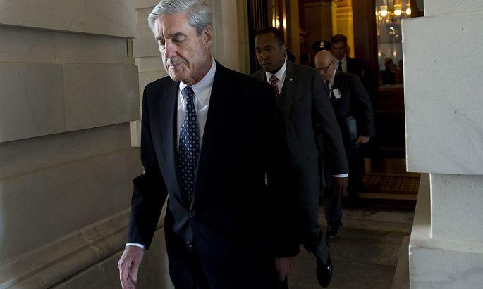 Robert Mueller wird für US-Präsident Trump immer mehr zur unerwünschten Person.