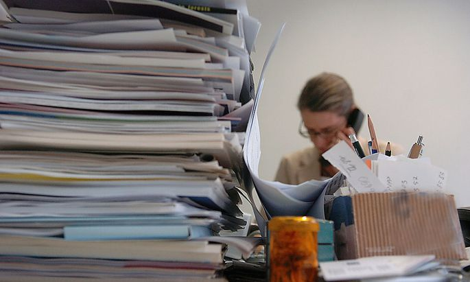 Stress Büro Arbeit
