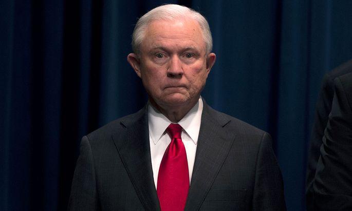 Jeff Sessions reichte den Rücktritt ein.