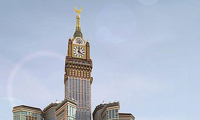 Mekka Uhrturm Ramadan
