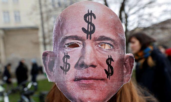 Amazon-Gründer Jeff Bezos, wie ihn viele Amerikaner sehen.